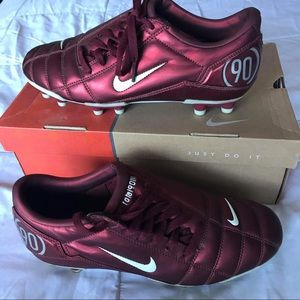 Nike Total 90 III FG Red Cleats